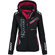 Geographical Norway Lady Chaqueta funcional al aire libre para mujer  Softshell Jacket d09cd572a04bb
