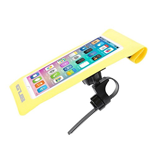 broadroot Bike Lenkertasche Wasserdichte Schutzhülle Bildschirm Handytasche Tasche, gelb -