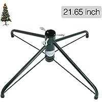 Base para árboles de Navidad, de la marca Ouvin, de 4 patas y 50 cm, metal, Verde, Large