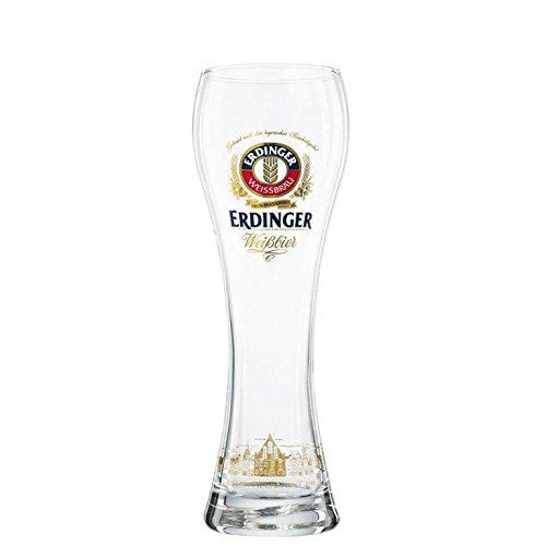 6 Stück Erdinger Weissbier Gläser 0,5l - Exclusiv Edition