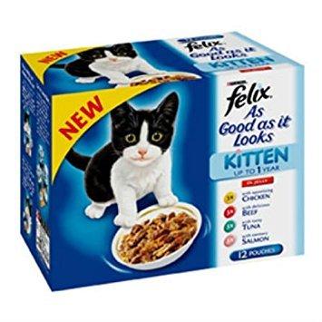 Felix As Good As It Looks - Bolso para gatos (100 g, 12 unidades)