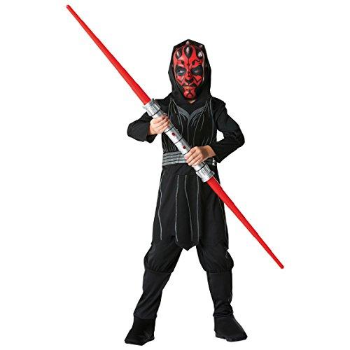 Kinder Kostüm Darth Maul Starwars Sith Lord Kinderkostüm Star Wars Filmkostüm Jediritter Gegner M 5-6 Jahre