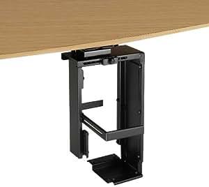 lindy support de fixation sous bureau pour tour d 39 ordinateur informatique. Black Bedroom Furniture Sets. Home Design Ideas