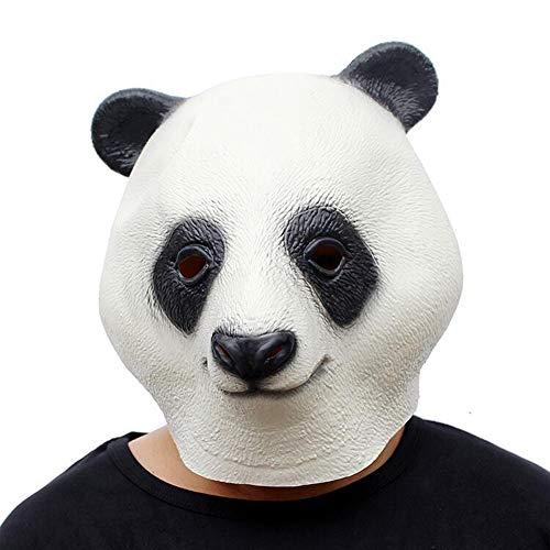 Kostüm Für Fu Kung Panda Erwachsene - Kung Fu Panda Maske Tier Latex Kopfbedeckung Halloween Festival Dress Up Party Party