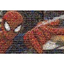Spiderman mosaïque des BD Marvel Comics Mouse Pad, Mousepad (25,9x 21,1x 0,3cm)