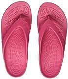 Crocs Kadee II Flip Women, Chanclas para Mujer, Rosa (Paradise Pink), 39/40 EU