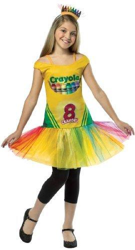 Crayon Box Kostüm - Rasta Imposta 4526-46 Cry Crayon Box Kleid 4-6