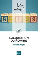 L'acquisition du nombre de Michel Fayol