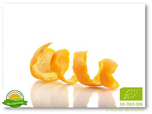 Cáscara de naranja finamente cortada (orgánica) 112 g