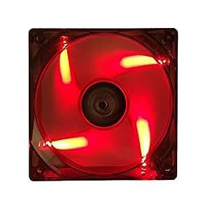 iTek Xtreme Flow Computer case Fan - computer cooling components (Computer case, Fan, 12 cm, 1200 RPM, 23.4 dB, 43.2 cfm)