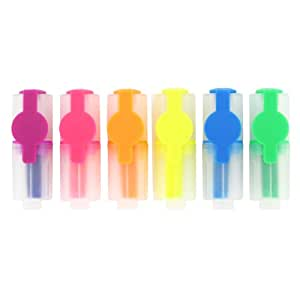 Paperchase mini highlighters - pack of 6