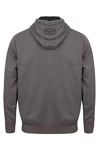 Tokyo Laundry -  Felpa con cappuccio  - Uomo Oakwood - Charcoal Grey