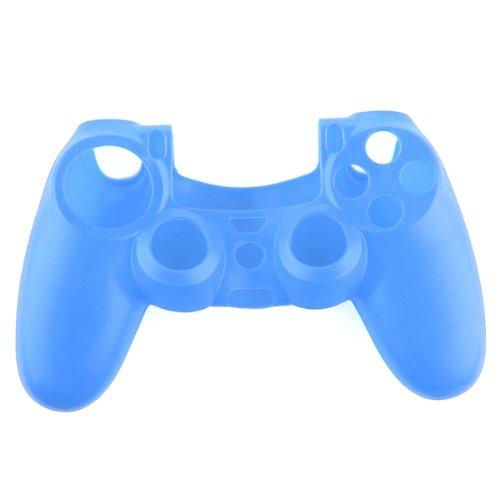 Funda Silicona Protectora para Mando Consola de PS4 Color Azul