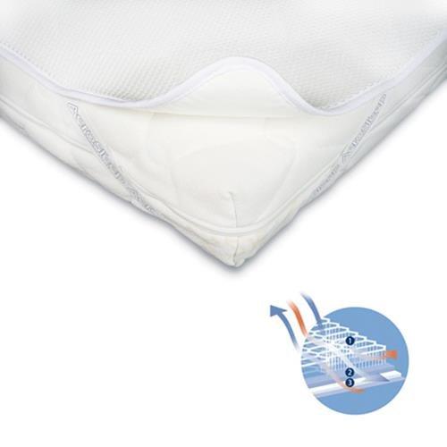 Aerosleep Materasso sfoderabile antisoffoco + copri materasso cm 125 x 60