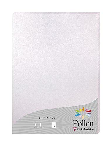 Papier A4 Pollen 210g perl.rosa 25B