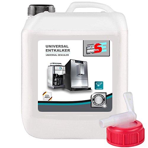 10 Liter RSE Premium Universal Entkalker mit Auslaufhahn für Kaffeevollautomaten,...