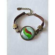 Handmade Anime Lucarionite Mega Stone Brooch Badge Pin Lucario Cosplay Fashion Jewelry