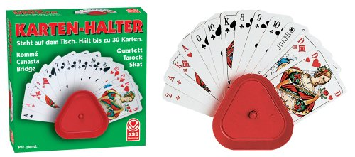 ASS Altenburger 22574015 - Kartenhalter (Bridge Design Kinder)
