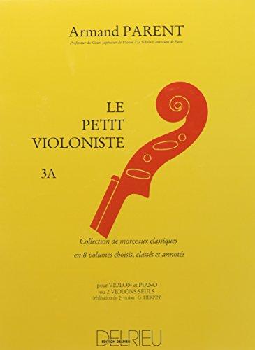 Petit violoniste (Le) Volume 3A