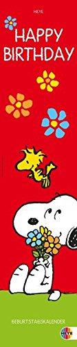 Snoopy Geburtstagskalender: Jahresunabhängig