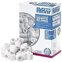 Hydor Sinterized Quartz Bio-Ring 450 gr - Cannolicchi o cilindretti in quarzo sinterizzato per substrato (Esterno Biologico Filtro)