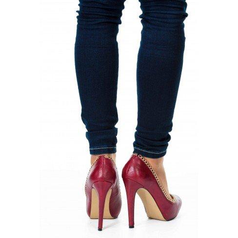 Princesse boutique - ESCARPINS ROUGE Rouge