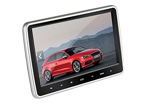 BW 25,7cm Auto Kopfstütze DVD Player, Region Free, IR-Fernbedienung, Spiele Emulation, SD-Kartenslot, HDMI, universell passend (Region Free-auto-dvd-player)