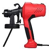 Festnight JR-1820 230-240V 400W Pistolet à peinture électrique Airless Paint Mini machine de pulvérisation pour peinture voitures meubles en bois mur bois avec coupe coupe