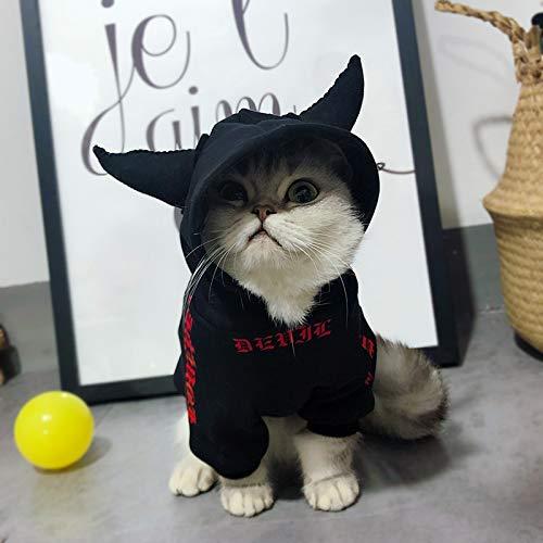 gungen für Hundekleidung/Katzekleidung, Dämon-Form-populärer HundekühlerHoodie für Hund/Katze Junge oder Mädchen (Size : XS) ()