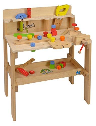 beluga Spielwaren 70740 Werkzeugbank groß, Spiel