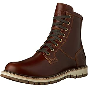 Timberland Herren Britton Hill PT Boot WP Braun Leder Stiefel 43