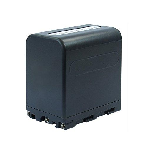 Blumax® FM90NP FM90Ersatz 4800mAh 7,4V Akku Power Pack für Sony Handycam R/RX S/ST MVC TRV DVD DCR-DCR TRV HDR-HDR-SR-/HDR-UX-Serie -