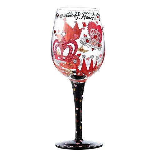 Lolita verre de vin - Reine des coeurs