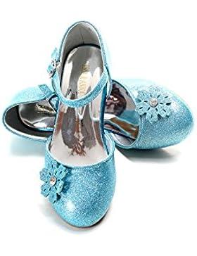 UK1stChoice-Zone Gute Qualität Neueste Design Mädchen Schuhe Prinzessin Schnee Königin Gelee Partei Schuhe Sandalen