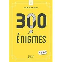 Le bloc de jeux - 300 énigmes amusantes à résoudre