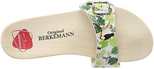 Muli Mixte Multicolore Berkemann Sandalo Toucan Adulto bianco Originale xOq8Hnw71R