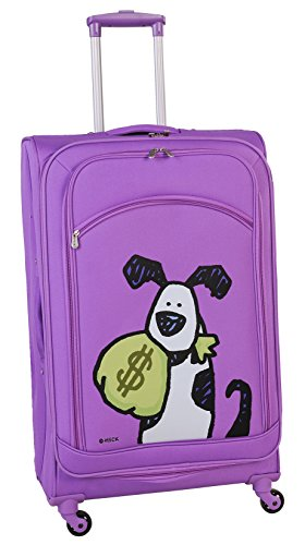 ed-heck-money-doggie-spinner-luggage-28-inch-purple-one-size