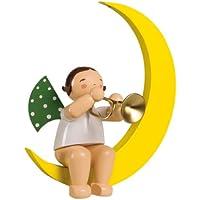 Wendt & Kühn 771/36 Engel mit Trompete im Mond, groß