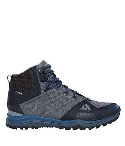 The North Face M Ultra Fastpack Ii Mid Gtx, Chaussures de Randonnée Homme ZINCGRY/SHADYBL