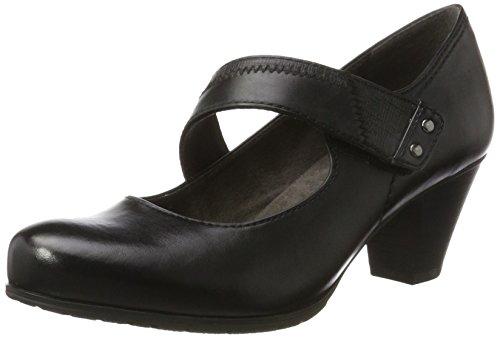 Softline Damen 24460 Pumps Schwarz (Black)