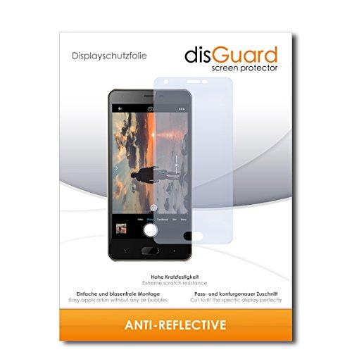 disGuard® Bildschirmschutzfolie [Anti-Reflex] kompatibel mit Doogee X20 [2 Stück] Entspiegelnd, Matt, Antireflektierend, Extrem Kratzfest, Anti-Fingerabdruck - Panzerglas Folie, Schutzfolie