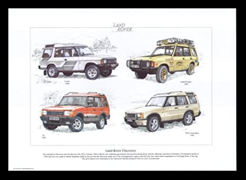 Land Rover Discovery Cadre impression Land Rover 3portes, Camel Trophy, XS, Third Generation