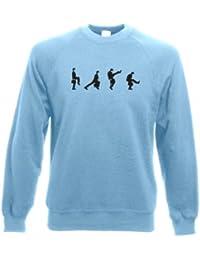 alberne Gangarten in einer Reihe T-Shirt Tasse