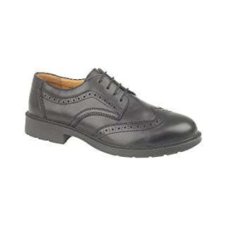 Amblers Steel FS44 Safety Brogue / Mens Shoes / Safety Shoes (8 UK) (Black)