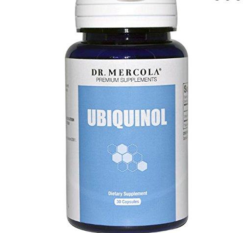 Dr. Mercola, Ubiquinol, verstärkte Bioaktivität CoQ10, 100 mg, 30 Kapseln Caplique -