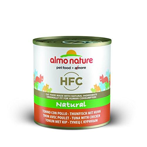 Almo Nature Classic Katzenfutter Thunfisch und Huhn -12 X 280 g