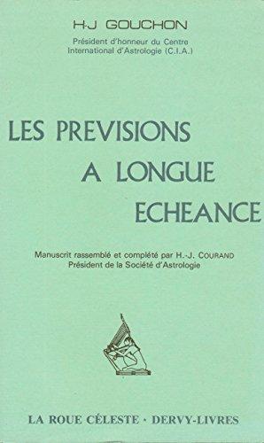 Les prvisions  longue chance [1980]