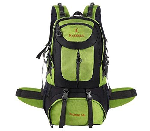 ec297687e8 Grande capacità sacchetti esterni di alpinismo 70L uomini e donne borsa  sportiva borsa tracolla pacchetto equitazione