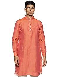 Manyavar Men's Full Sleeve Blended Kurta (ML11774)