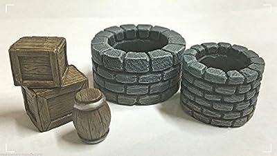 WWS Wells, Crates et Barils Résine Kit R3
